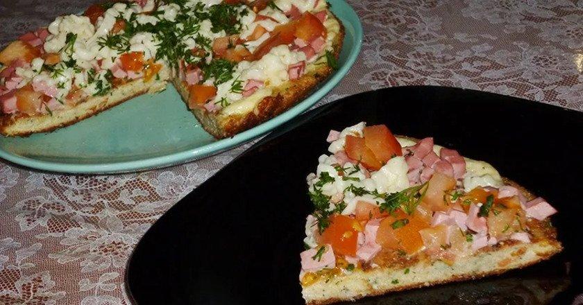 Піца з хліба подивитися рецепт