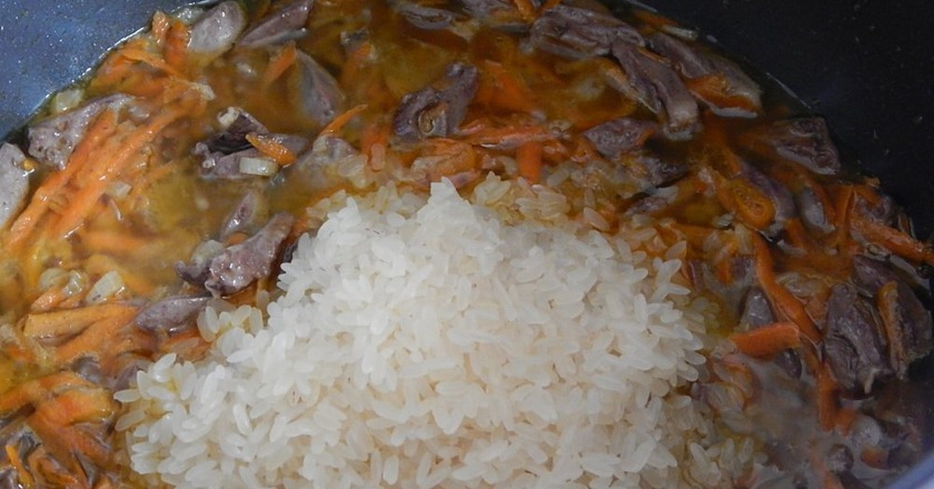 Сердечка з рисом