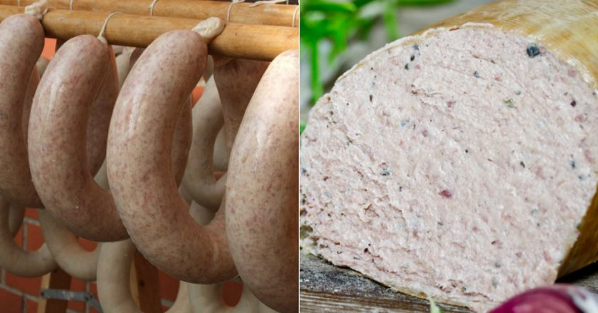 Домашня ковбаса печінкова подивитися рецепт