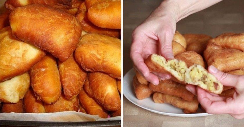 Сирні пиріжки з картоплею подивитися рецепт