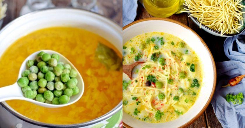 Сирний суп з горошком подивитися рецепт