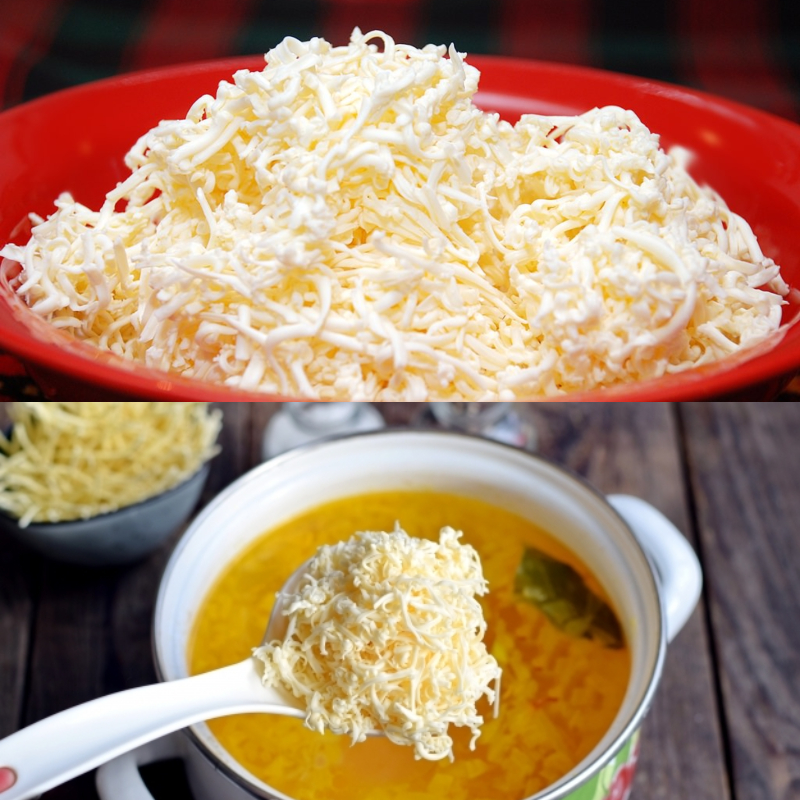 Сирний суп з горошком