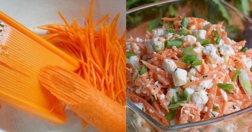 Вітамінний салат з моркви подивитися рецепт