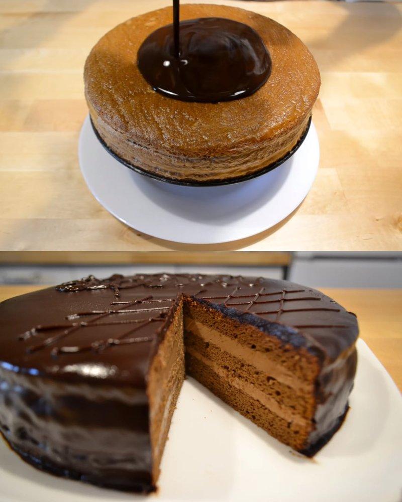 Торт «Прага» в домашніх умовах