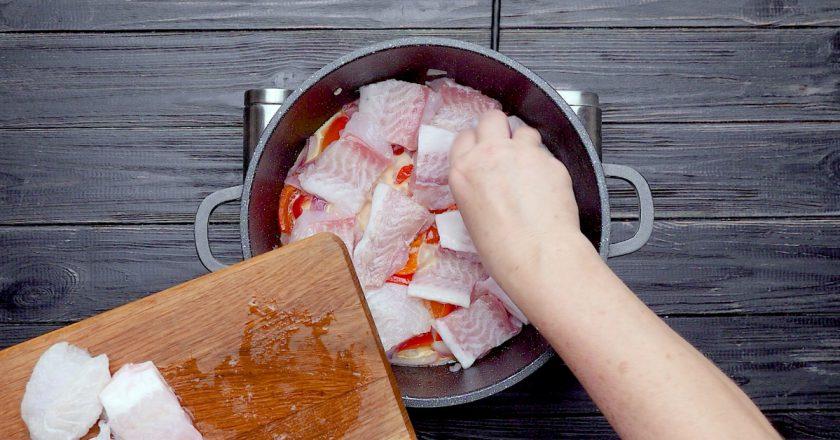 Як приготувати печеня з риби подивитися рецепт