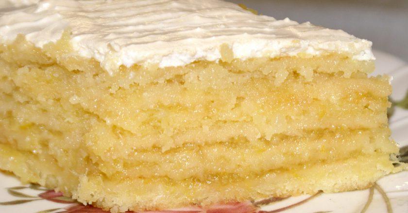 Лимонний пиріг від Ірини Аллегрової подивитися рецепт