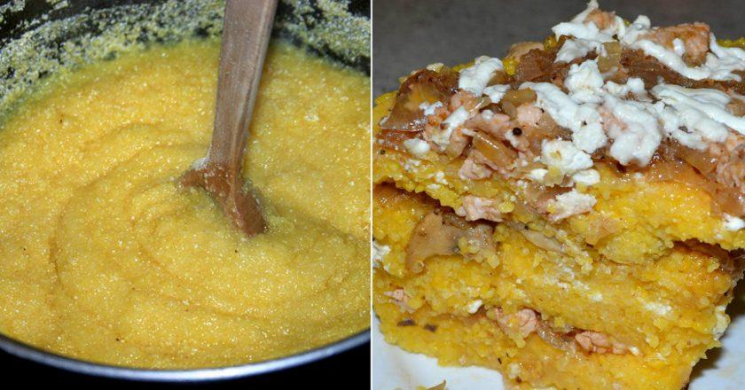 Мамалига з кукурудзяного борошна як приготувати, покрокові рецепти від «Це Смак»
