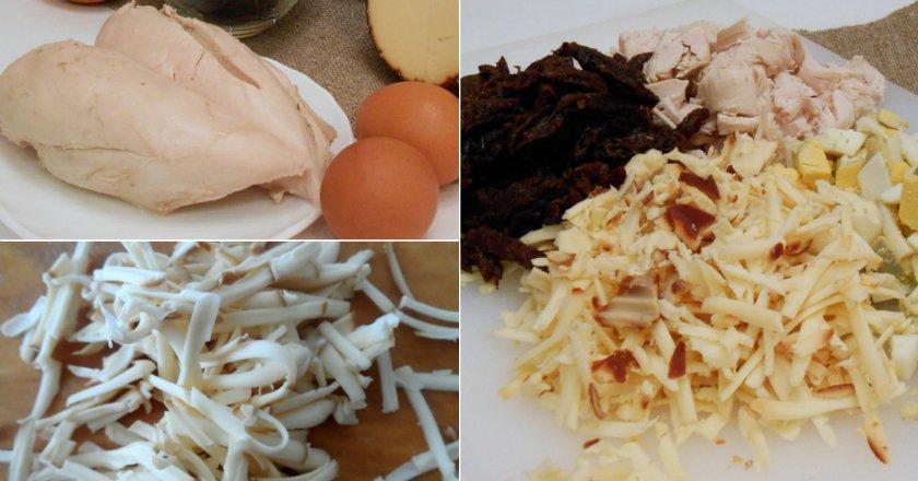 Сирний салат подивитися рецепт