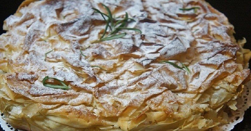 Пиріг з тіста філо
