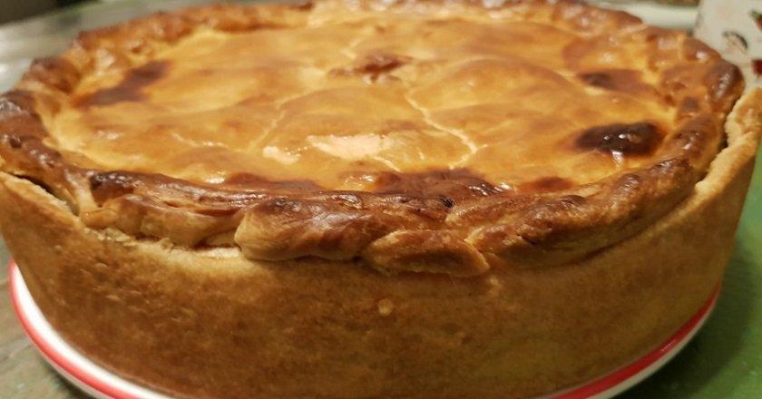 Пиріг з горохом подивитися рецепт