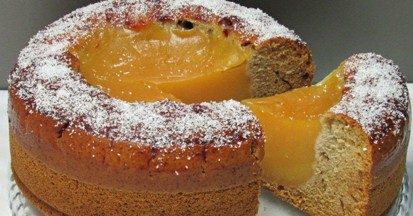 Пісний пиріг «Вулкан» подивитися рецепт