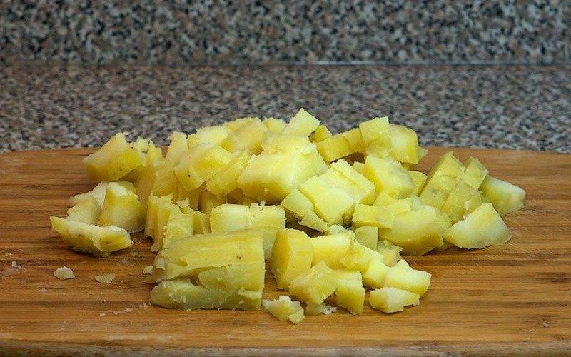 Пиріг з картоплею і сиром