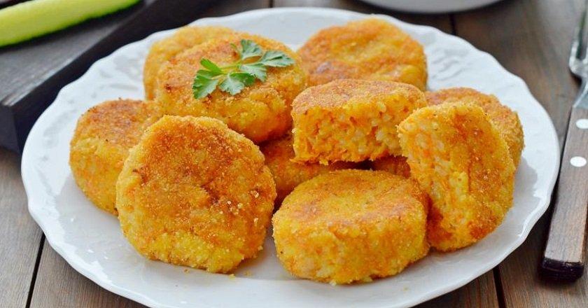 Морквяно-рисові котлети подивитися рецепт