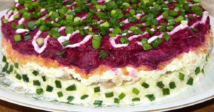 Салат з яловичиною як приготувати, покрокові рецепти від «Це Смак»