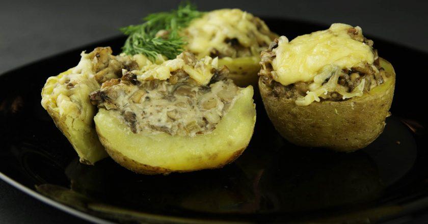 Жюльєн в картоплі подивитися рецепт