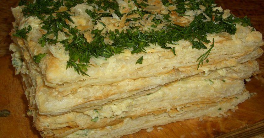 Вегетаріанський «Наполеон» подивитися рецепт