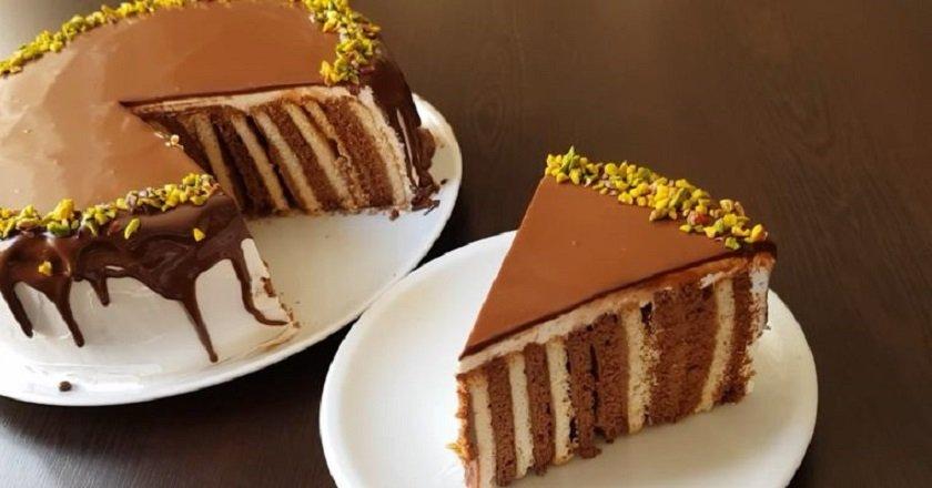 Торт з галетного печива подивитися рецепт