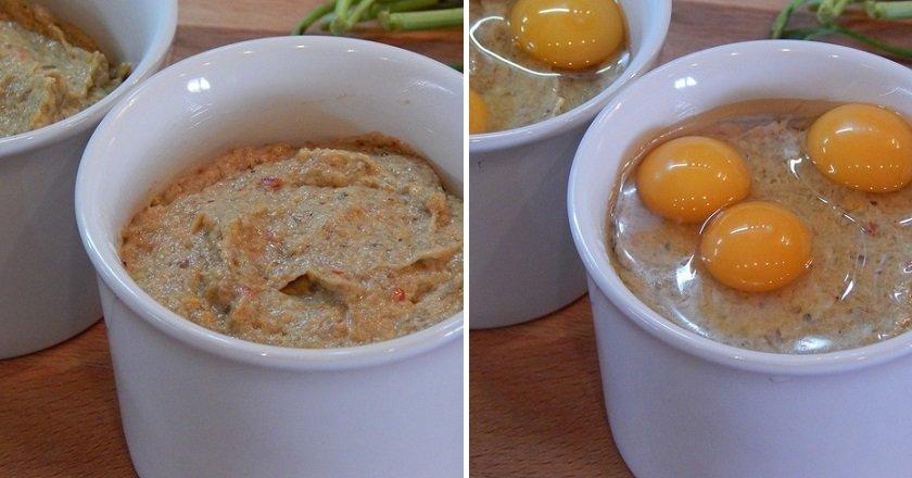 Грибне пюре з яйцями подивитися рецепт