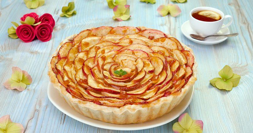 Як приготувати яблучний пиріг з пудингом подивитися рецепт