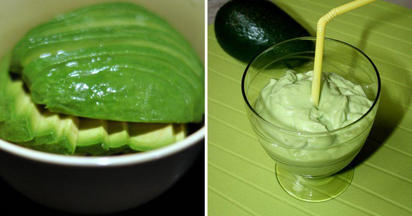 Смузі з авокадо подивитися рецепт