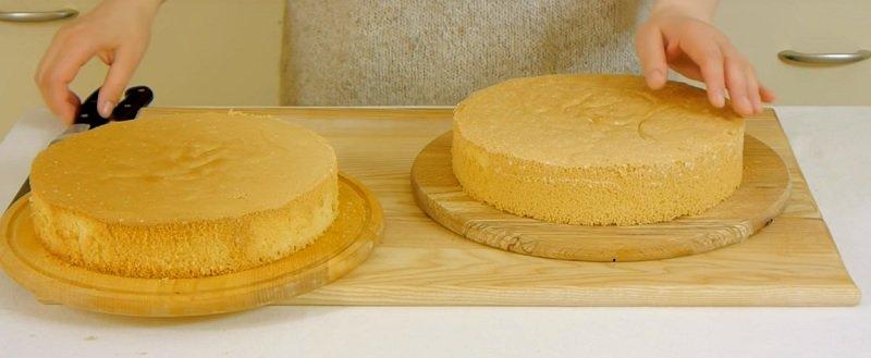 Торт «Мімоза»