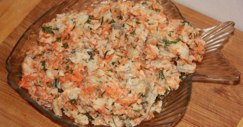 Салат «Ракові шийки» як приготувати, покрокові рецепти від «Це Смак»