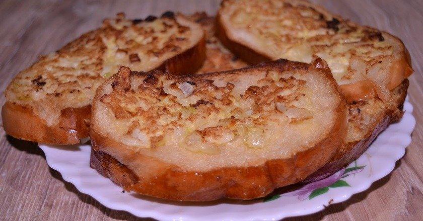 Бутерброди з цибулею подивитися рецепт
