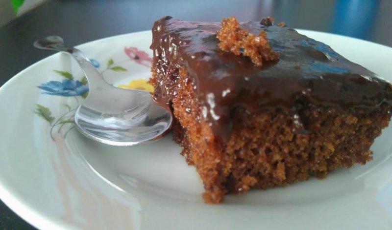 Грецький шоколадний пиріг