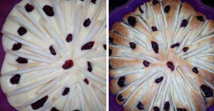 Яблучний пиріг в духовці