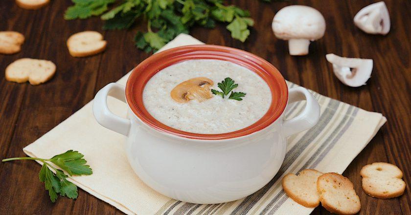 Як приготувати грибний крем-суп подивитися рецепт