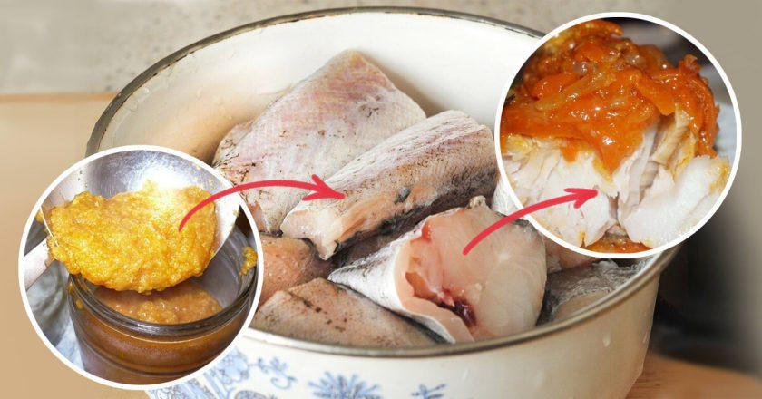 Філе минтая в духовці як приготувати, покрокові рецепти від «Це Смак»