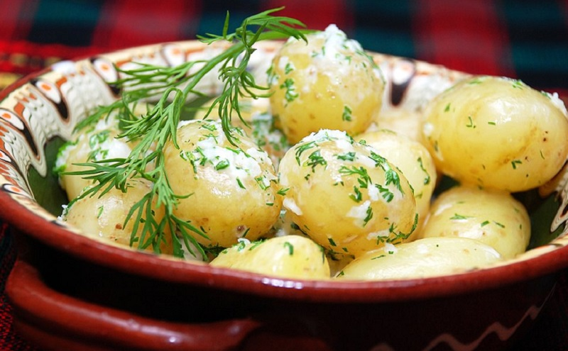 Картопля зі сметаною