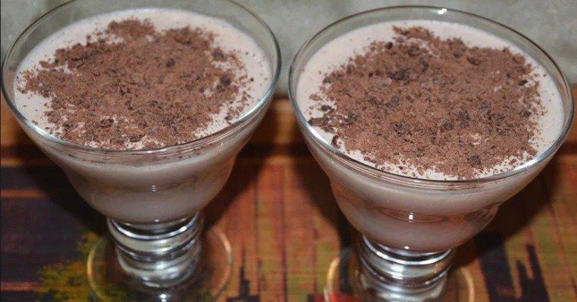 Кавовий десерт подивитися рецепт