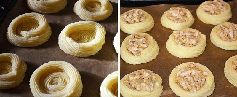 Картопляні «гнізда»