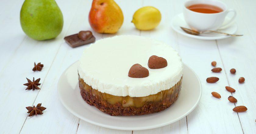 Як приготувати грушевий торт подивитися рецепт
