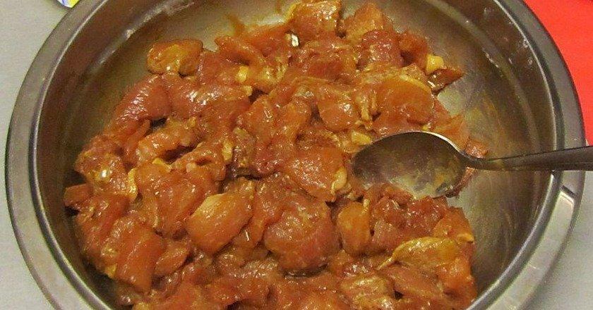 Свинина в соусі по-китайськи подивитися рецепт