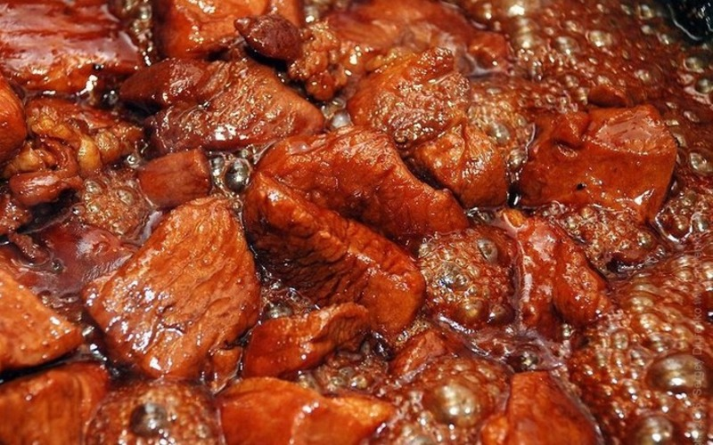 Свинина в соусі по-китайськи