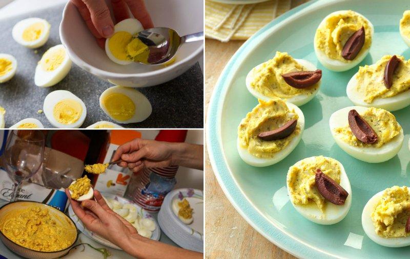 Яйця, фаршировані по-грецьки