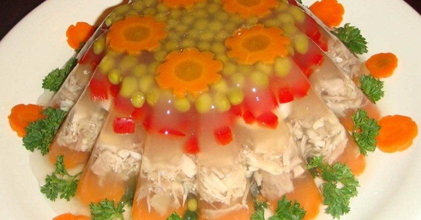 Заливне з куркою як приготувати, покрокові рецепти від «Це Смак»