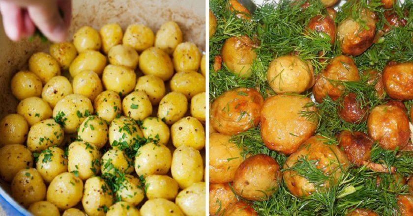 Картопля «Шато» як приготувати, покрокові рецепти від «Це Смак»