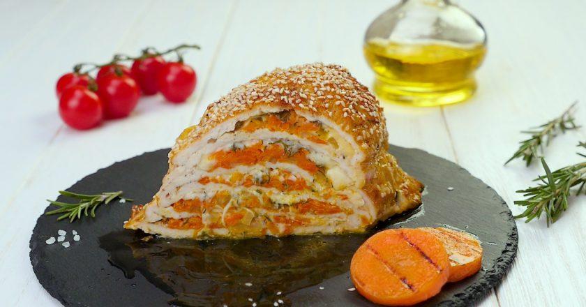 Як приготувати курячу грудку з сиром в духовці подивитися рецепт