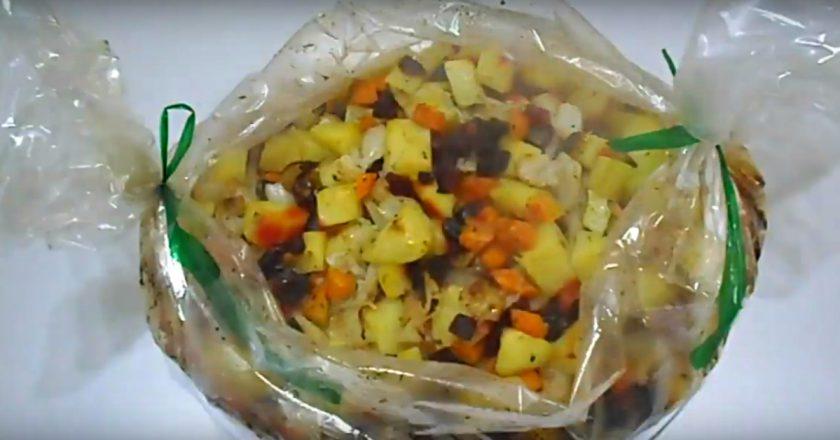 Овочеве рагу «Вінегрет» подивитися рецепт