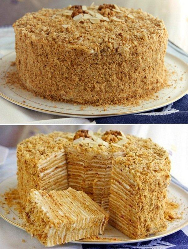 Торт «Пізанська вежа»
