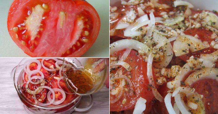 Закуска з помідорів подивитися рецепт