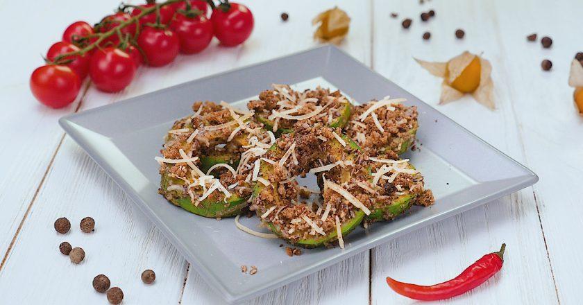 Як запекти авокадо з насінням льону подивитися рецепт