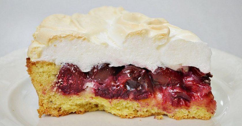 Торт «Вишня під снігом» подивитися рецепт