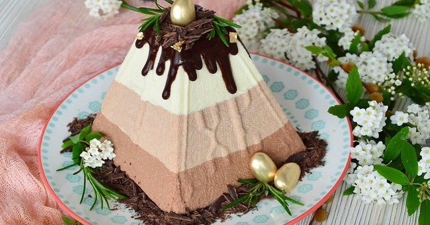 Пасха «Три шоколада» подивитися рецепт