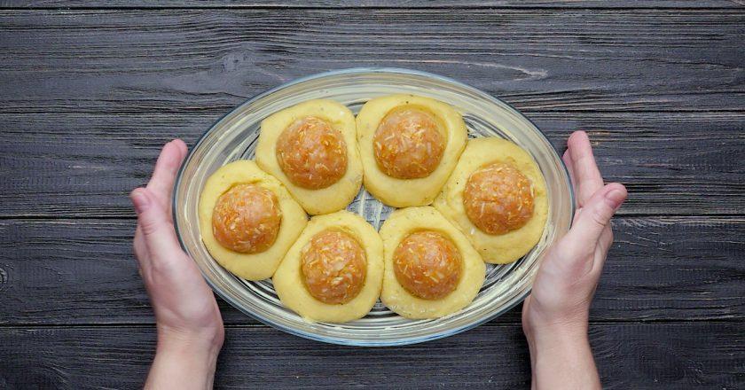 Як приготувати картопляні гнізда з тюфтельками подивитися рецепт
