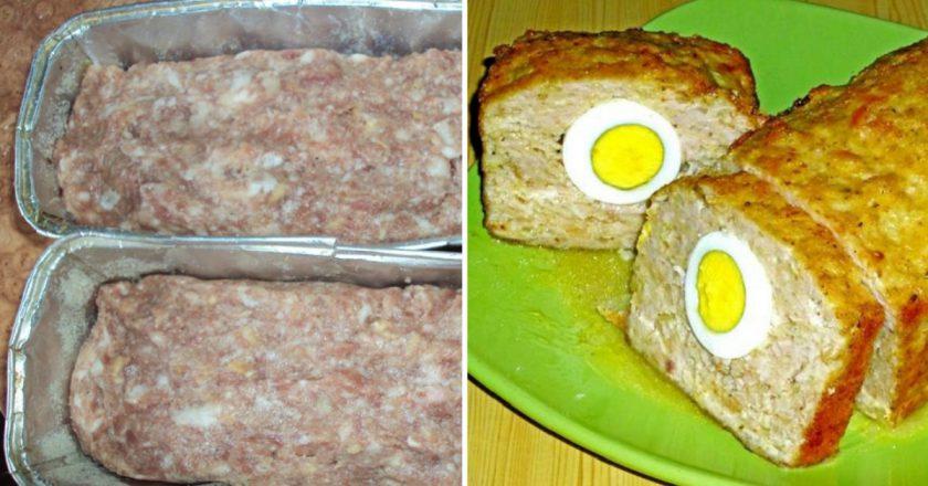 М'ясний хлібець «Заєць» подивитися рецепт