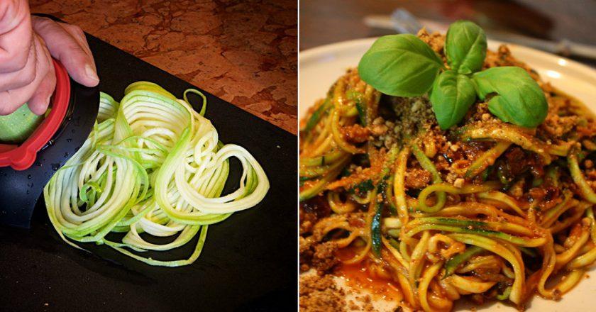 Спагетті з кабачків подивитися рецепт